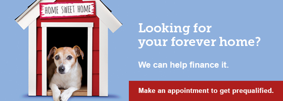 Looking for your forever home, we can help finance it.